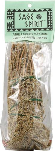 "6"" Smudge wand Desert Sage & Sweetgrass Blend"