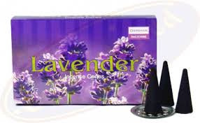 Darshan Lavender Incense Cones