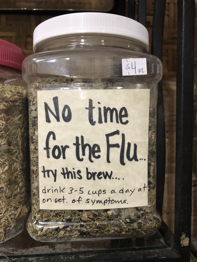 No time for the flu