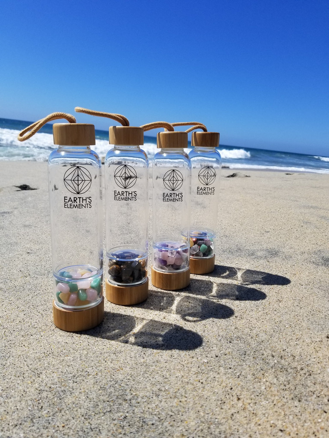 Gemstone water bottle infusers - Comes in 4 combinations