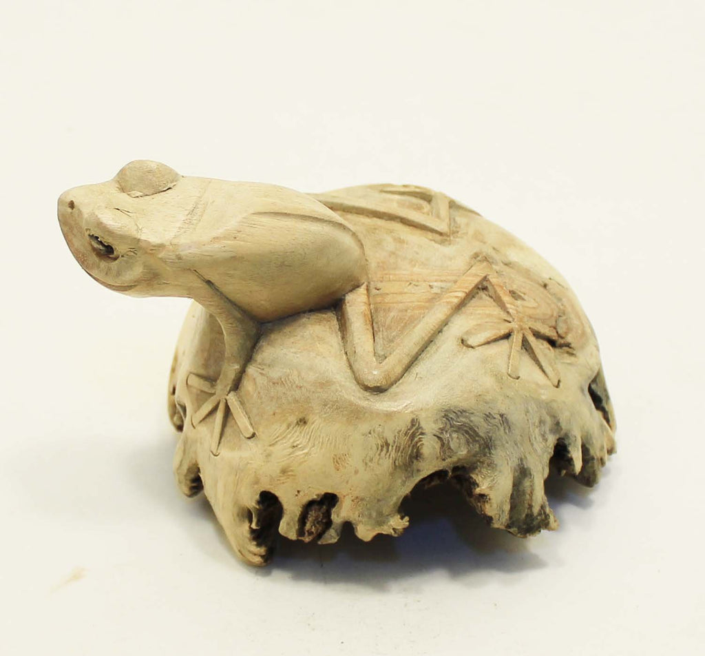 Parasite Wood Tree Frog Carvings