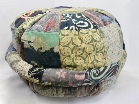 Bali Patchwork Pillow 50cm recycled sarongs