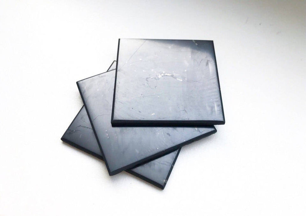 "Shungite Crystal or Phone Charging tiles 4"" x 4"""