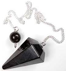 Shungite pendulums - Two Styles