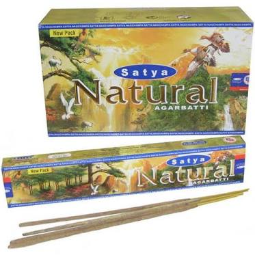 Satya Natural Incense Sticks - Available in 4 sizes