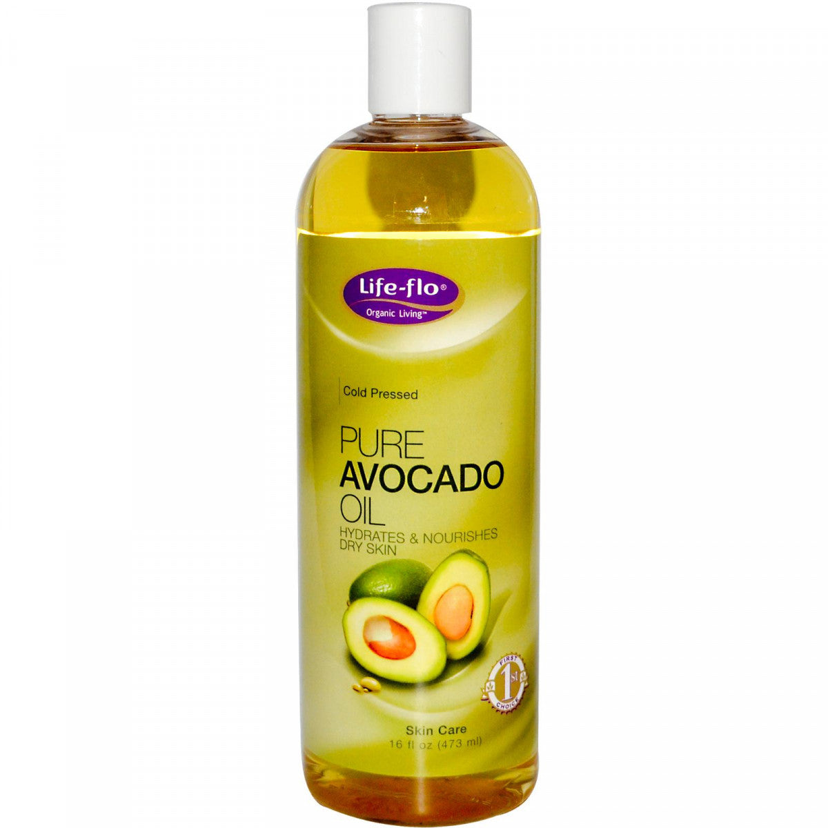 Life Flo Health, Pure Avocado Oil, 16 fl oz (473 ml)