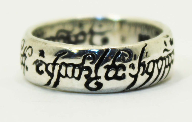 Sterling Silver Lord of the Rings Ring