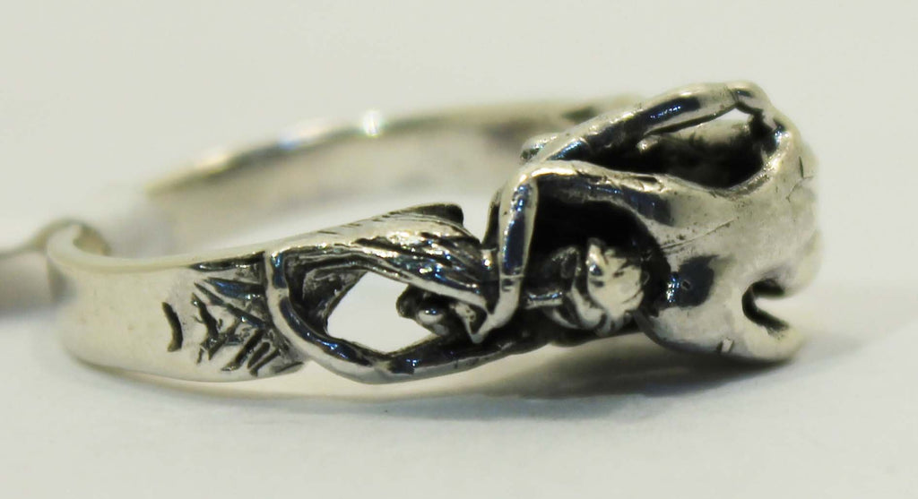Sterling Silver 69 Couple Ring