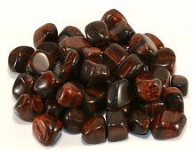 Red Tigers Eye Tumbles 3 pieces