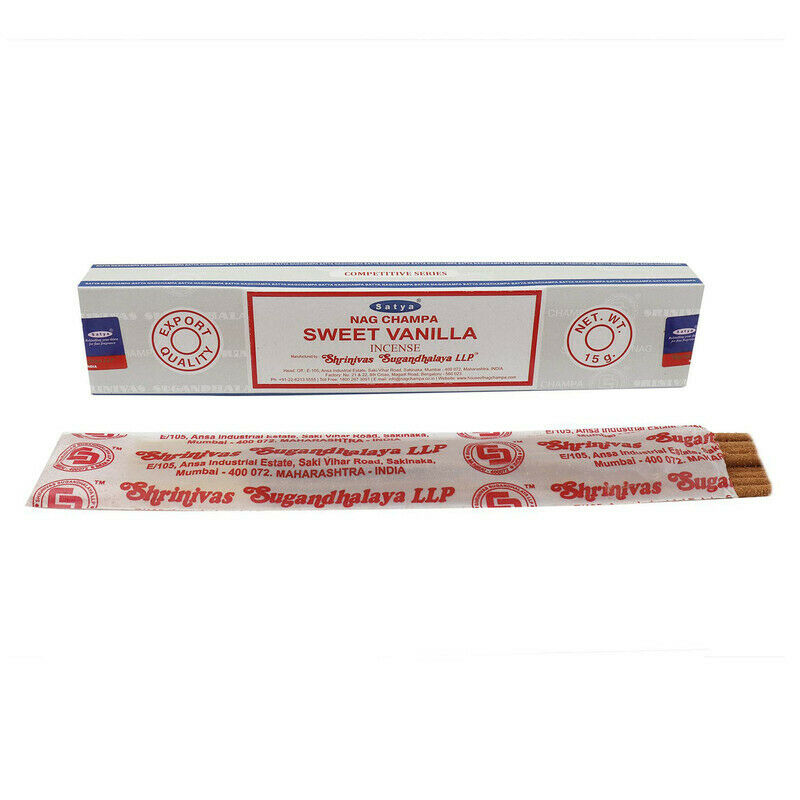 Satya Sweet Vanilla Incense 15 grams