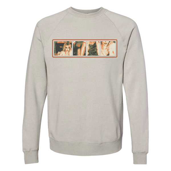 Photo Strip Sweatshirt
