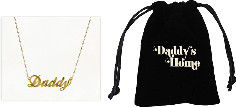 Daddy's Home Necklace