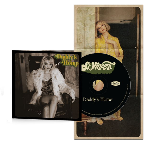 Daddy's Home - CD-St. Vincent