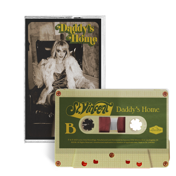 Daddy's Home - Cassette-St. Vincent