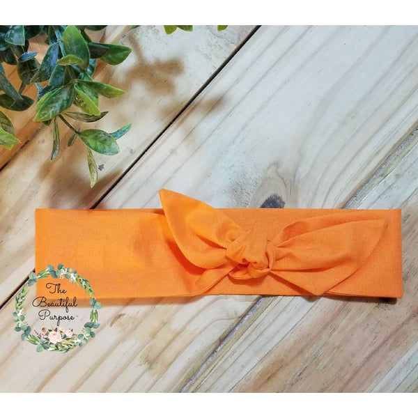 Orange Neon Regular Headband
