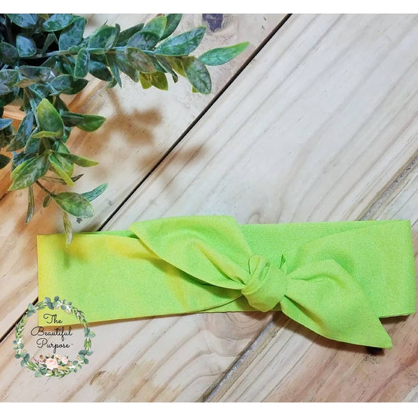 Green Neon Regular Headband