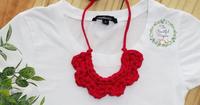 FLOR NECKLACE - AMAPOLA