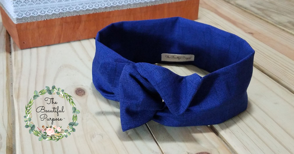 Peacock Wire Headband