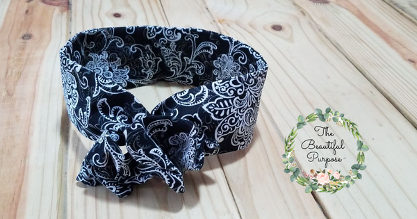 Snow Night Wire headband
