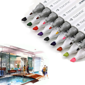 Interior Design Dual Head Markers - Almost Artist
