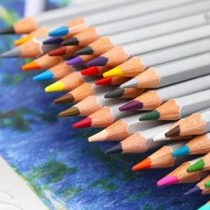 Marco Raffiné™ Oily Colored Art Pencil Set - For Coloring, Sketching, & Drawing - Almost Artist
