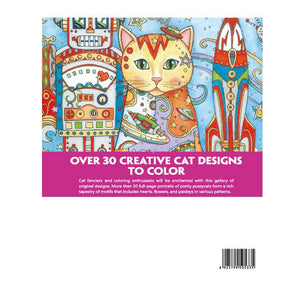 Coloring Book - Creative Cats - Almost Artist