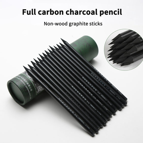 Marie's™ 24 Piece Full Charcoal Drawing Pencil Set - Almost Artist