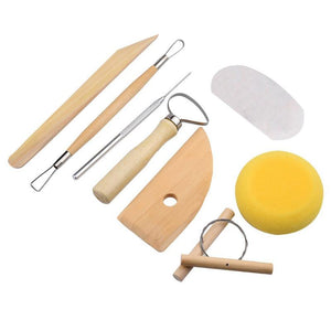 Clay Sculpting Kit - 19 pieces/Set - Almost Artist