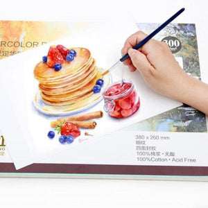 Professional Watercolor Paper Sheets - 300g/m2 - Almost Artist