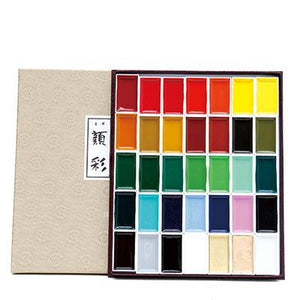 Japan Auspicious - Watercolors Sets - Almost Artist
