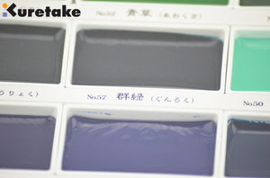 ZIG Kuretake™ GANSAI TAMBI WATERCOLOUR Set - 12/18/24/36/ - Almost Artist
