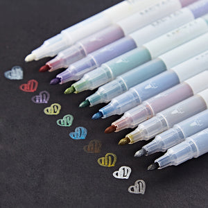 Metallic Markers - 10 colors/Set - Almost Artist