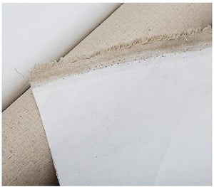 Primed Linen Canvas For Oil Painting - 5 Metres - Almost Artist