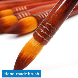Ancient Rhyme Style Nylon Hair Watercolor/Acrylic Brush - Almost Artist