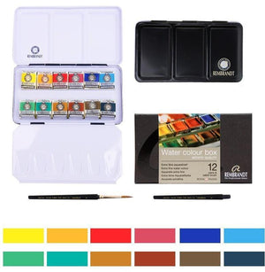 Rembrandt™ Watercolor Paints Sets - Almost Artist