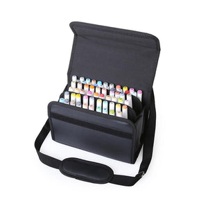 Leather Case For Markers - 60 Slots - Almost Artist
