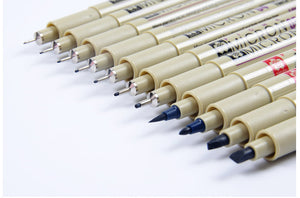 SAKURA™ Pigma Micron Pens - 13 Sizes - Almost Artist