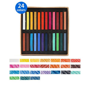 Marie's™ Soft Pastel Drawing Set - 12/24/36/48 Colors - Almost Artist
