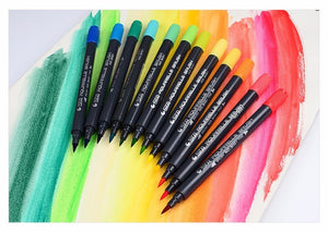 STA™ Dual Head Aquarelle Brush Pens - Almost Artist