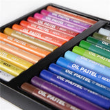 Oil Pastel Drawing Set - 24 Colors - Almost Artist