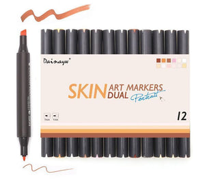 STA™ Skin Tone Markers - 12 colors - Almost Artist