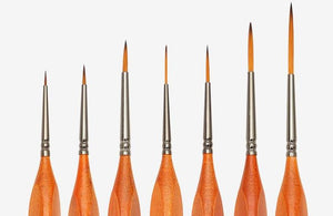 Hook Line Fine Brush - 7 Set - Almost Artist