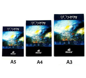 Oil Painting Canvas Book - 10 Sheets - Almost Artist