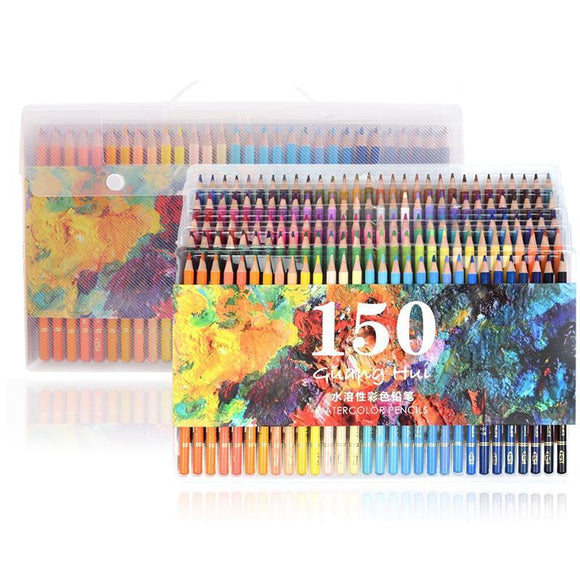 Watercolor Pencils - 150 Colors - Almost Artist