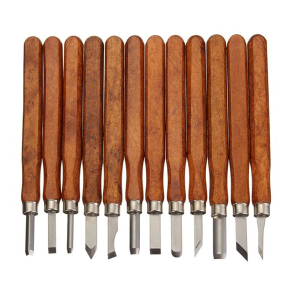 Carving Tools Set - 12 Pieces/Set - Almost Artist