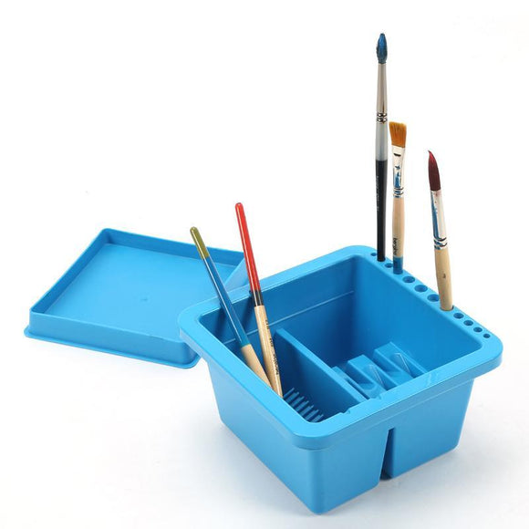 Mont Marte® Brushwasher Twin Compartment Bucket - Almost Artist