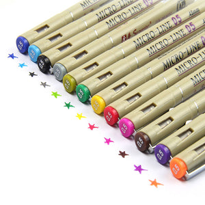 Superior® Micro-Line Colored Pen Set - Drawing & Coloring - Almost Artist