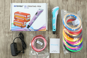 Myriwell® 3D Drawing & Doodling Pen - Make Your Own 3D Art! - Almost Artist