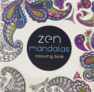 Coloring Book -  Zen Mandala - Almost Artist