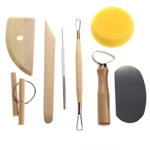 Pottery Tool Set - 8 pieces/Set - Almost Artist